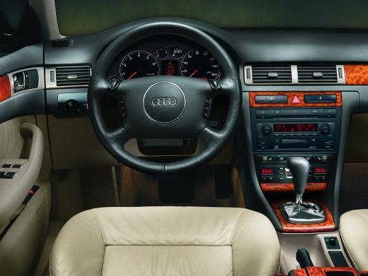 Детали салона Audi A6 C5
